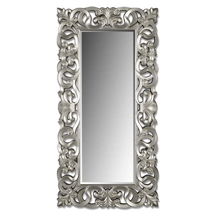 Silver Scroll Mirror | Value City Furniture I have this mirror in my living area and I absolutely love it !! #classyonabudget