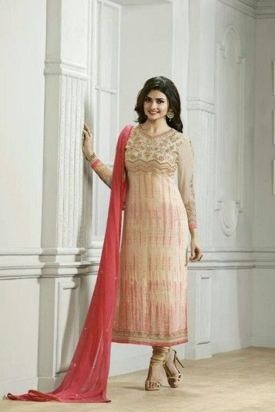CREAM & PEACH ONLINE STRAIGHT SUIT DRESSES IN INDIA  #Prachi #Desai Salwar Suit Collection Online #celebrity #bollywood #shopping #clothing  #Salwar Suit #Buy Salwar Suits Online #Dresses Online Shopping #Salwar Suits Online Shopping get more details, visit: http://www.thankar.com Contact Us: +91-9978289000 Email: support@thankar.com