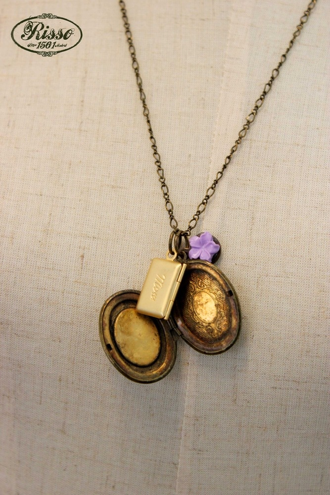 NECKLACE LETTER FROM MOM, CAMEO. $32