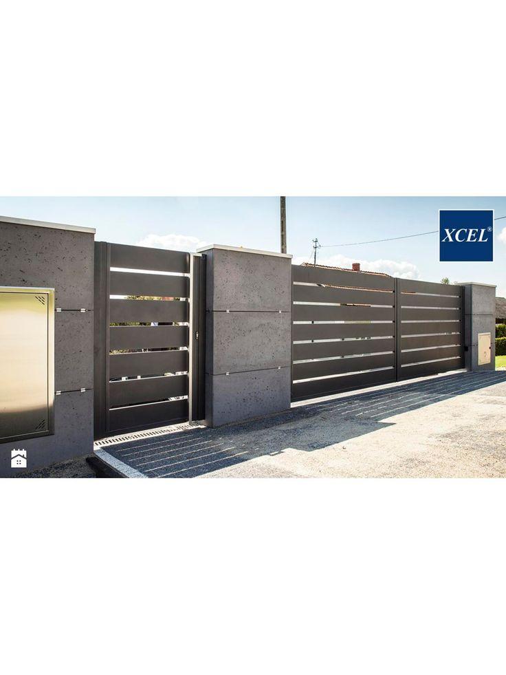 Nowoczesne Ogrodzenie Xcel Horizon Beton Architektoniczny Ogrodzenia - zdj�cie od XCEL Ogrodzenia