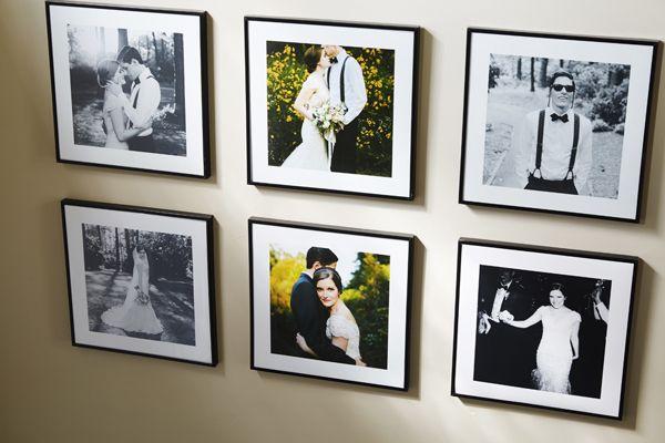 wedding photo organization, once I get them back