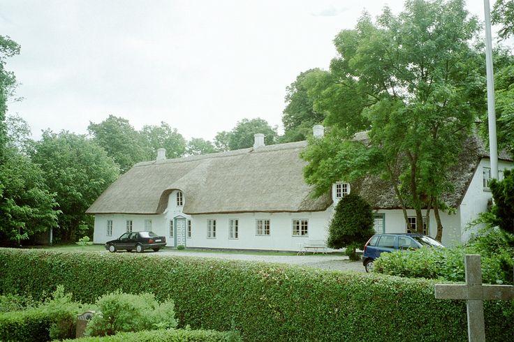 Skovlænge, Præstegård (ombygget1920 - nedrevet 2013)