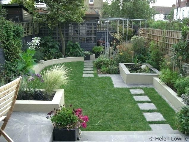 Modern Low Maintenance Backyard Google Search Large Backyard Landscaping Small Backyard Gardens Small Garden Design