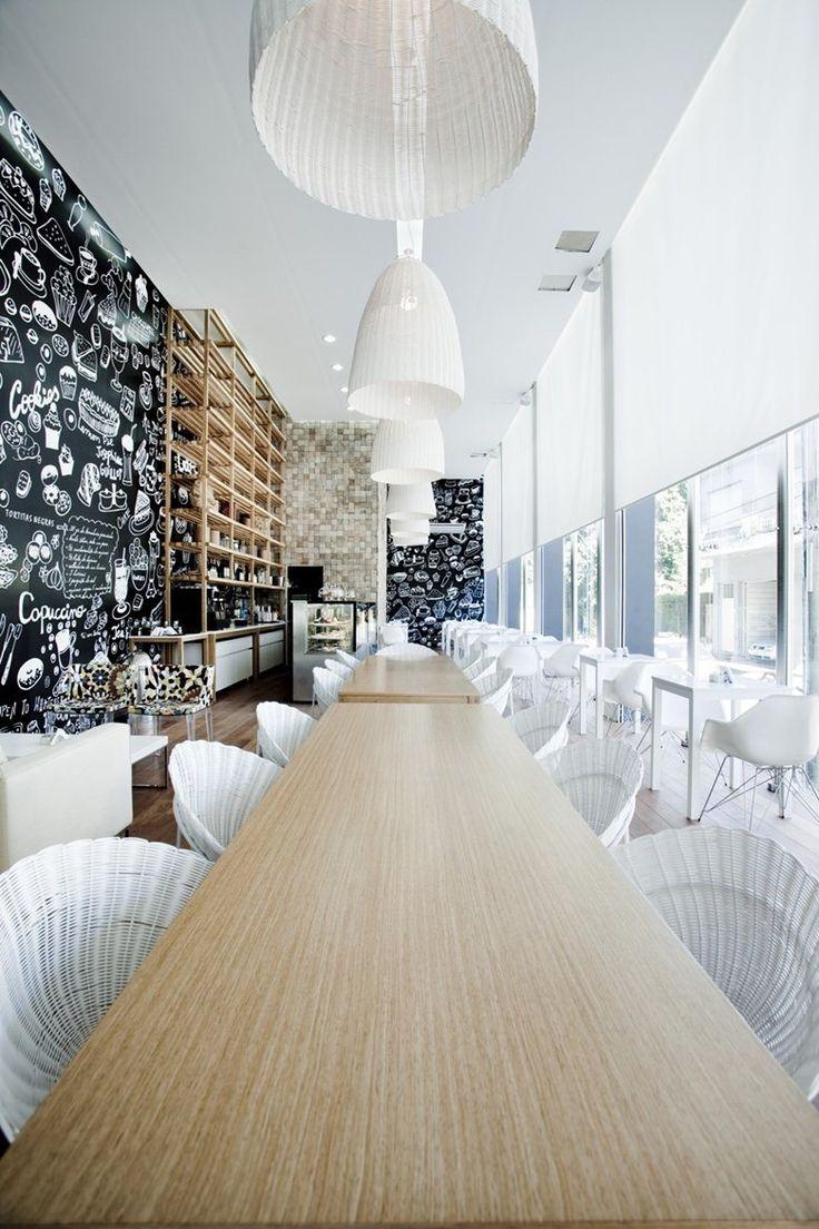 Blackboard Graphic Design - Terrazas Deil Coffee, Buenos Aires, VDV ARQ