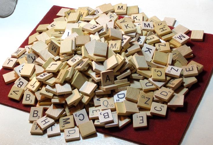 158 Best Images About Scrabble Tiles On Pinterest
