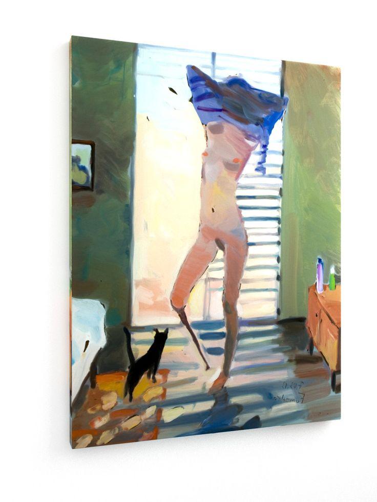 The cat 2 #Maxim #Fomenko #weewado #girl #Sun #prosthesis #cat #More #bedroom