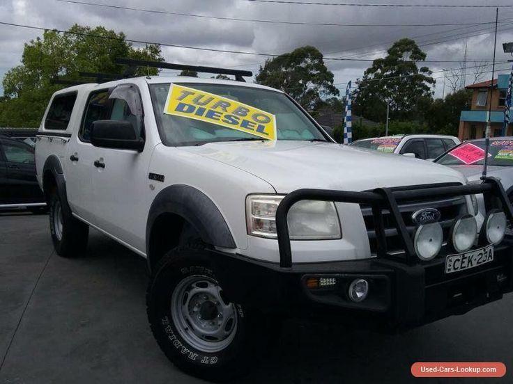 2007 Ford Ranger PJ XL (4x4) White Manual 5sp M Super Cab Chassis #ford #ranger #forsale #australia