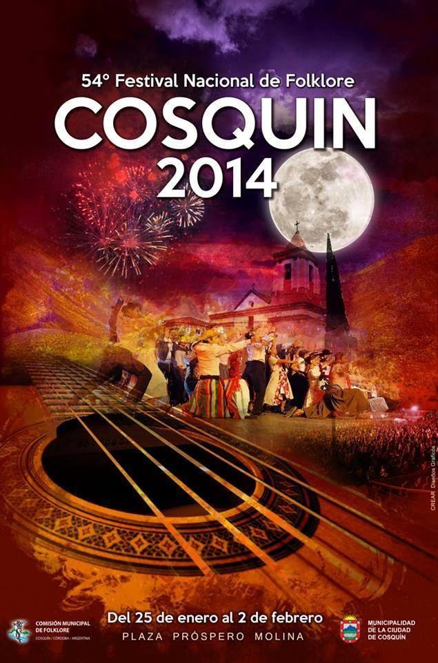 Tradicional festival en la provincia de Cordoba, Argentina