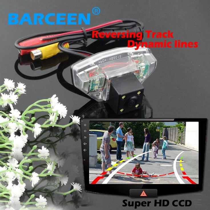 Применить для Honda CRV 2009 авто автомобильная стоянка камера с 4 привело принести hd ccd датчик изображения и Динамичный трек линии на promoton