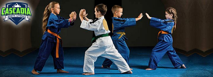Save 73%: 6-Weeks of Taekwondo Lessons for Kids! (up to 18yrs) Includes Free Uniform & Private Intro Lesson - only at Cascadia Sports Literacy in Nanaimo! Bring a fun, informative, relationship-building, wildly beneficial experience to your children today!