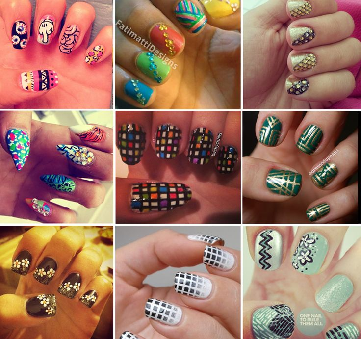 If you like to do your nails, try these ideas