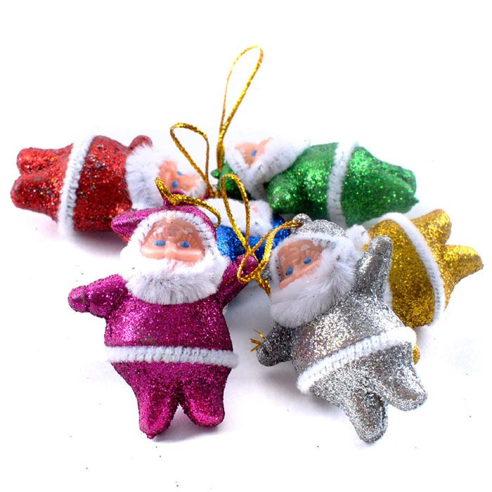 Festival 6PC Colorful Christmas Santa Claus Party Ornaments Xmas Tree Hanging Decoration #>=#>=#>=#>=#> Click on the pin to check out discount price, color, size, shipping, etc. Save and like it!