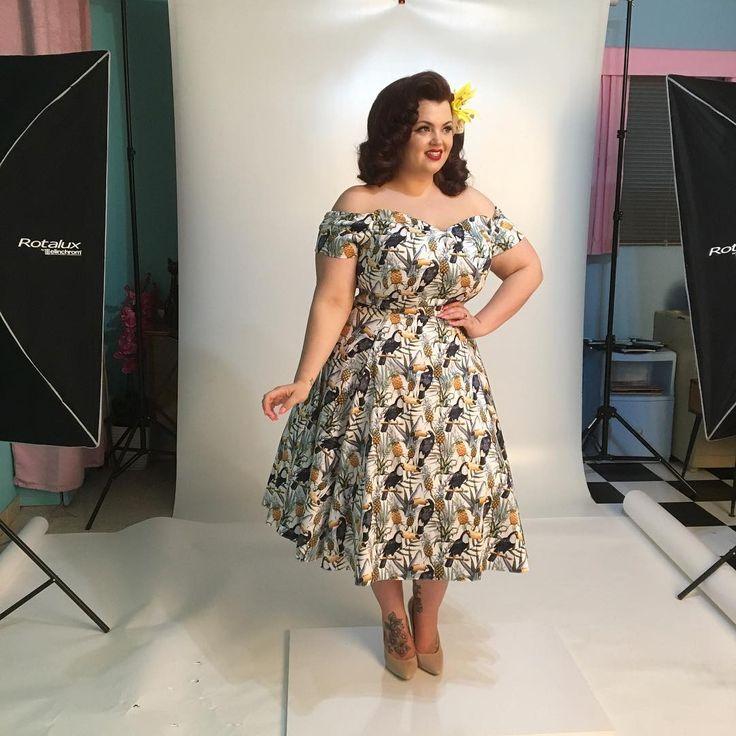 "853 Likes, 19 Comments - Georgina Horne (George) (@fullerfigurefullerbust) on Instagram: ""Marsella is a gorgeous new style from @ladyvolup! Coming soon 🌸 #ladyvoluptuous"""