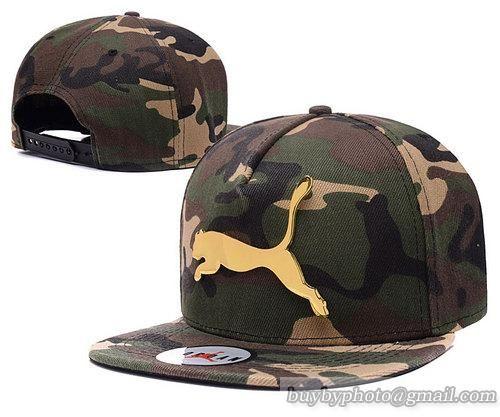 Puma Iron Standard Hip-Hop Snapback Caps Hats Hat Camo  8e3d189cb39b