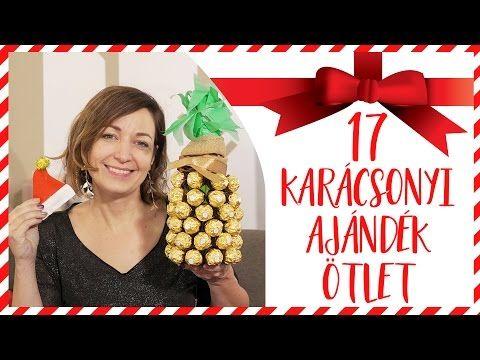 Gigantikus Karácsonyi ajándék ötlet invázió! 17 inspirációt mutatok ❤️🎄❤️ - YouTube