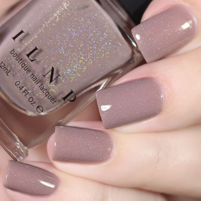 Coffee Run – Creamy Mocha Holographic Nail Polish by ILNP