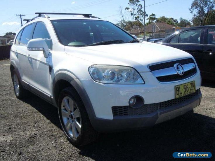 2007 Holden Captiva CG LX Wagon 7st 4dr Spts Auto 5sp 4x4 3.2i White Automatic #holden #captiva #forsale #australia