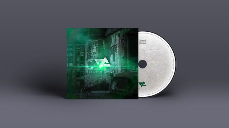 Album mockup for Dead Channel (italian Nu-Metal band).  Revup Agency, music promotion: graphic design, photography, video making, marketing, social media management.