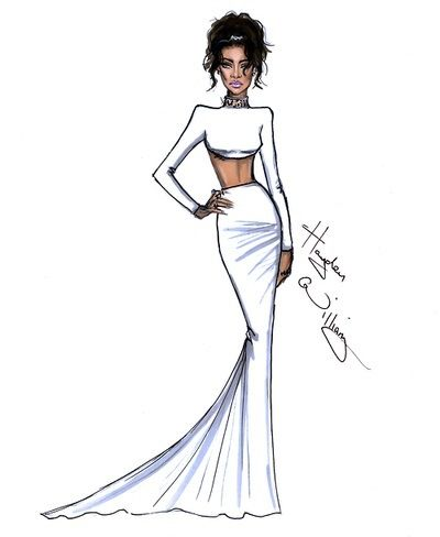 The Met Gala 2014 by Hayden Williams -Rihanna