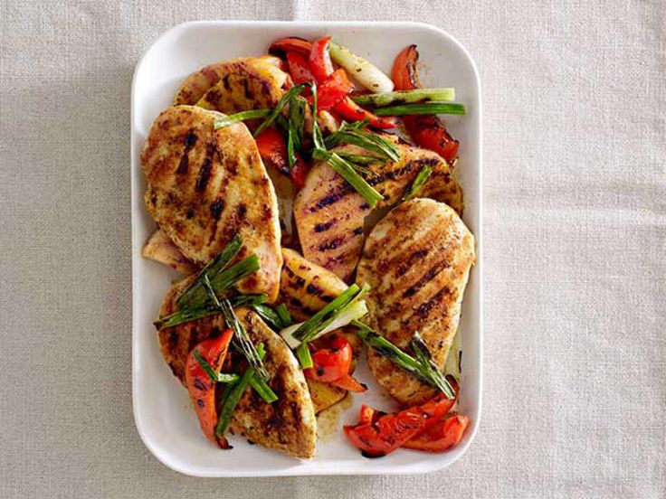 50 Chicken Dinner Recipes : Recipes and Cooking : Food Network - FoodNetwork.com Made the mushroom chicken-excellent.  Doubled the sauce and thickened slightly with cornstarch