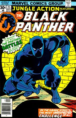 WILL SOMEONE PLEASE MAKE THIS MOVIE!  Wonder who they would get to play the Panther?