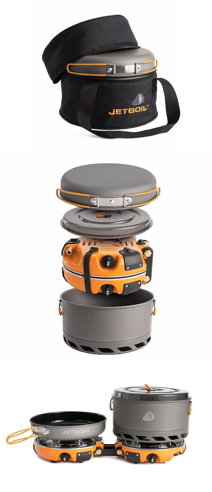 The Jetboil Genesis Base Camp 2 Burner System is a gaggle prepare dinner range for meal tim...