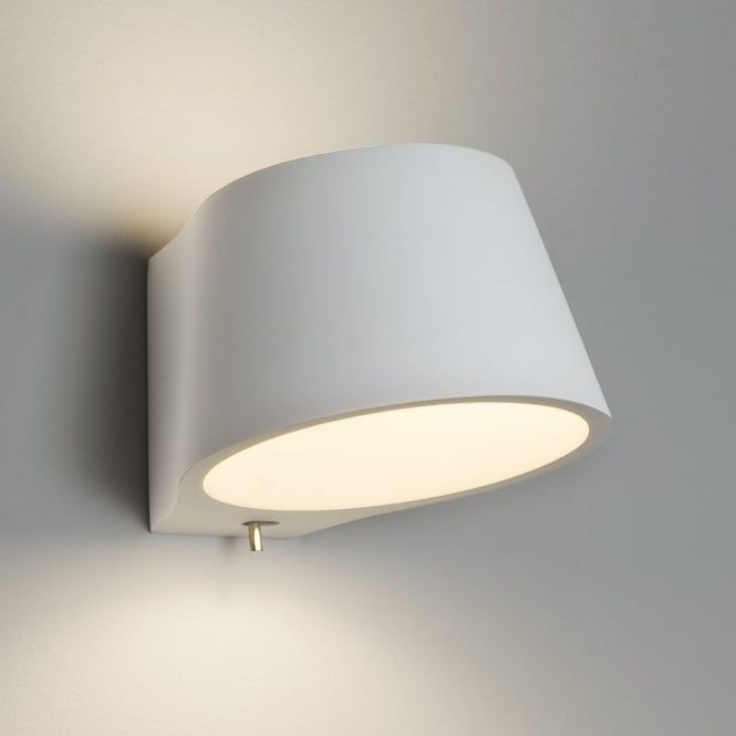 0695 koza 1 light up down wall light plaster