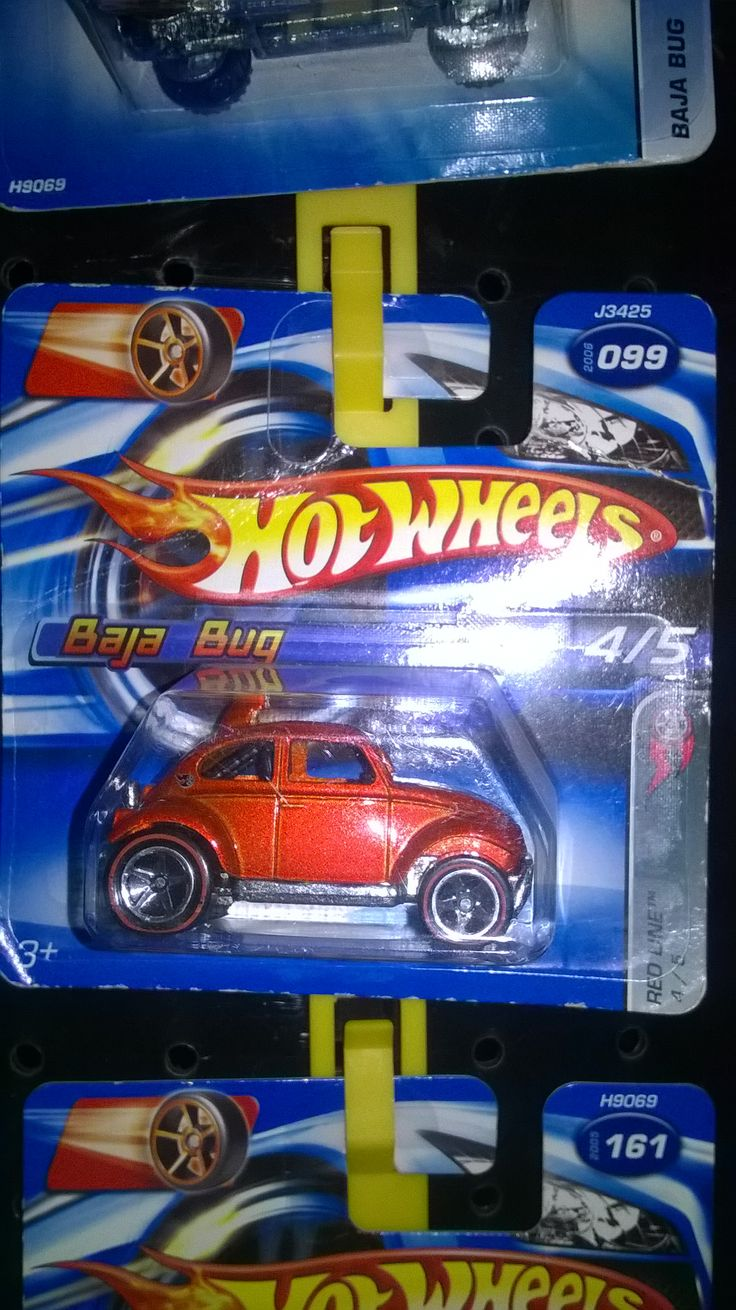 Hot Wheels Baja bug 2006 red line series