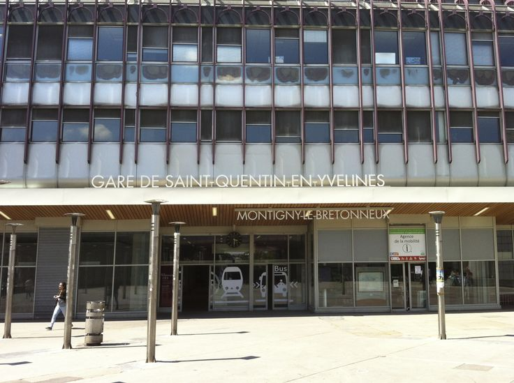 Gare de Saint Quentin en Yvelines - Montigny le Bretonneux