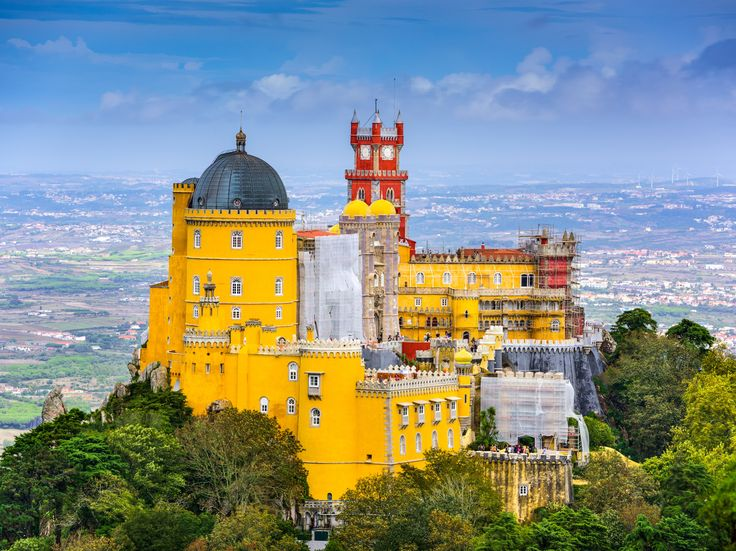 Sintra, Portugal: The Perfect Day Trip from Lisbon - The Pena Palace in Sintra was inspired by German Romantic architecture