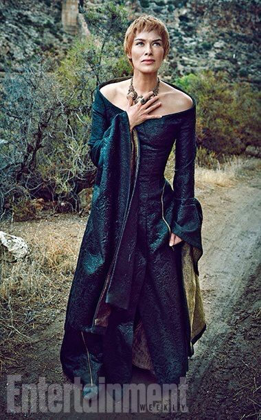 Game of Thrones: Lena Headey as Cersei Lannister for Entertainment Weekly