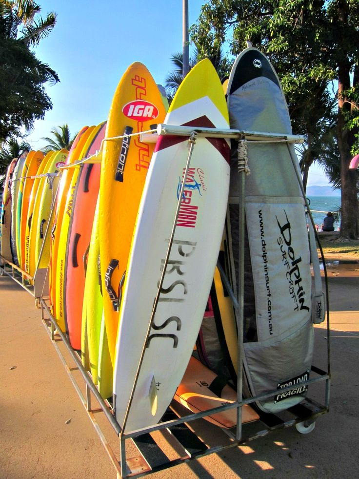 Surf Life Saving Boards - Picnic Bay S.L.S.C. - The Strand, Townsville