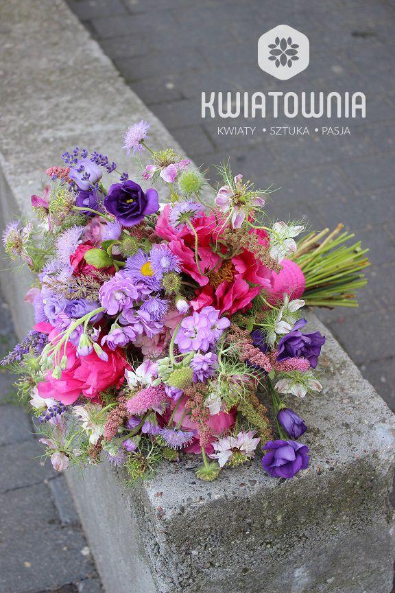 #lewkonia #lawenda #bride #bridal #fiolet #roz #piwonia #peonia