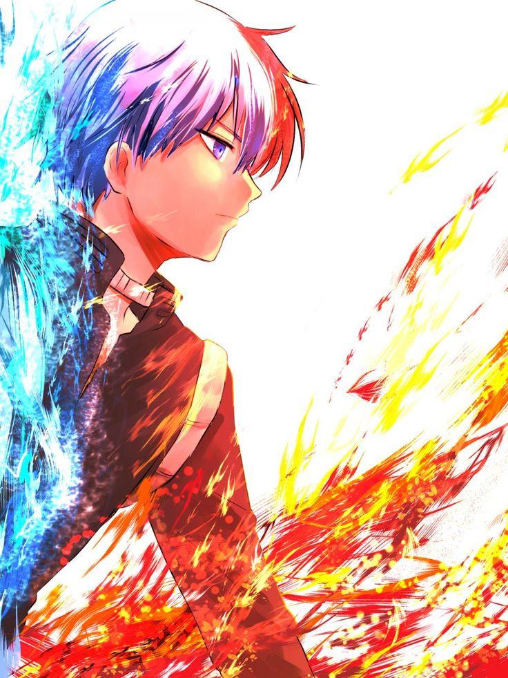 Boku no Hero Academia || Todoroki Shouto | Favorite character. He reminds me of Asano of Assassination Classroom ♡