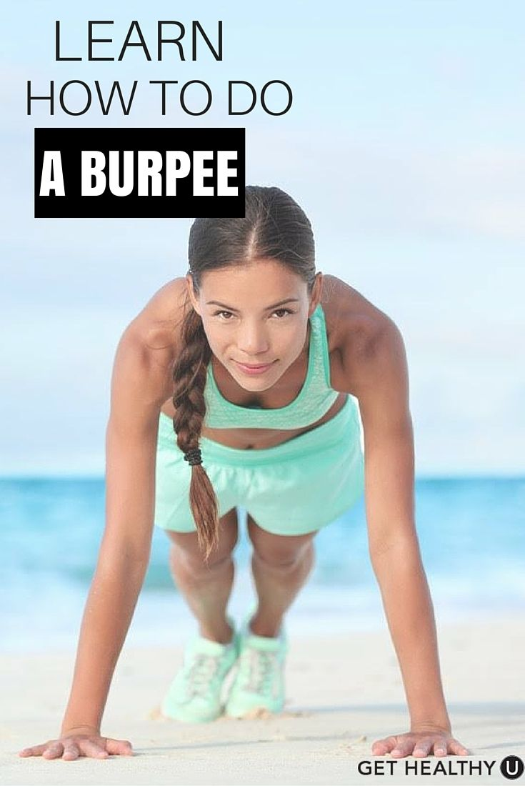 Learn How To Do A Burpee To Build Strength