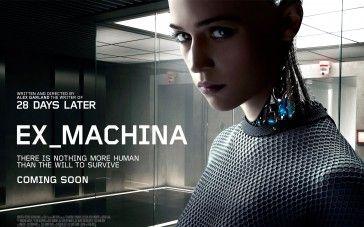 Ex Machina 2015 Movie Poster Wallpaper