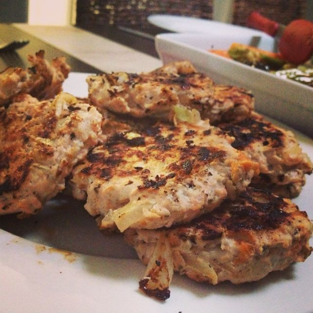 Paleo Chicken Rissoles Recipe.