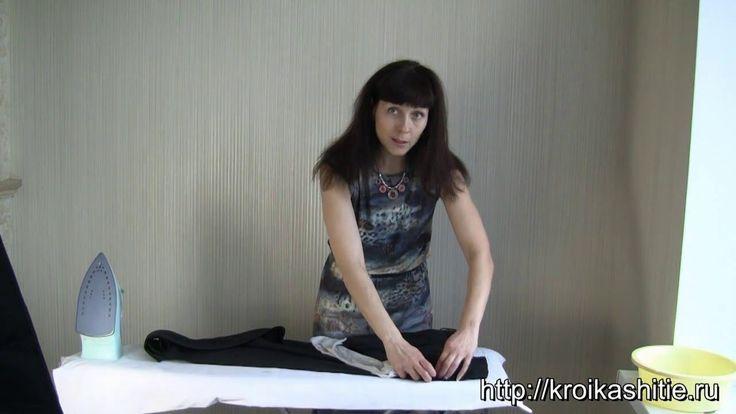 Как удалить блеск (ласы, подпалины от утюга) с брюк, юбок