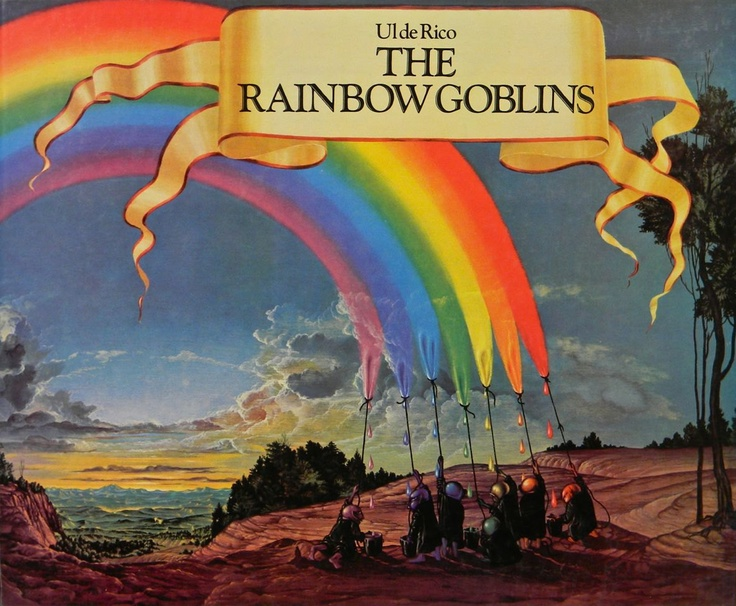 The Rainbow Goblins, by Ul De Rico one of my favorite books next to Watership down.  I've had a copy since I was a kid.