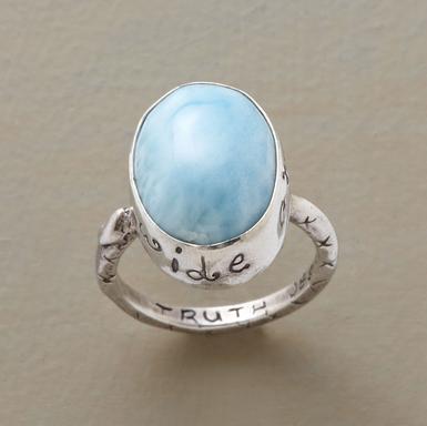 Wide Open Heart Ring By Jes Maharry Jewelry