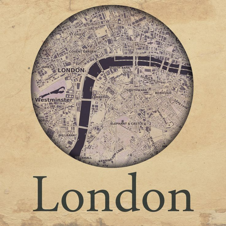 Cities edition - London by mapshakers.com
