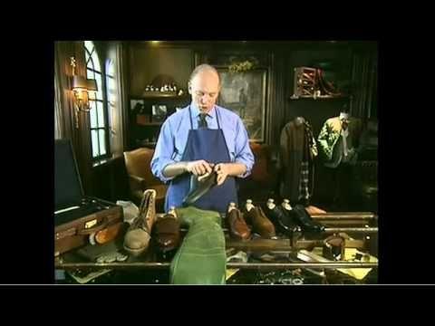 Schuhpflege Tutorial - Lederschuhe richtig pflegen - YouTube