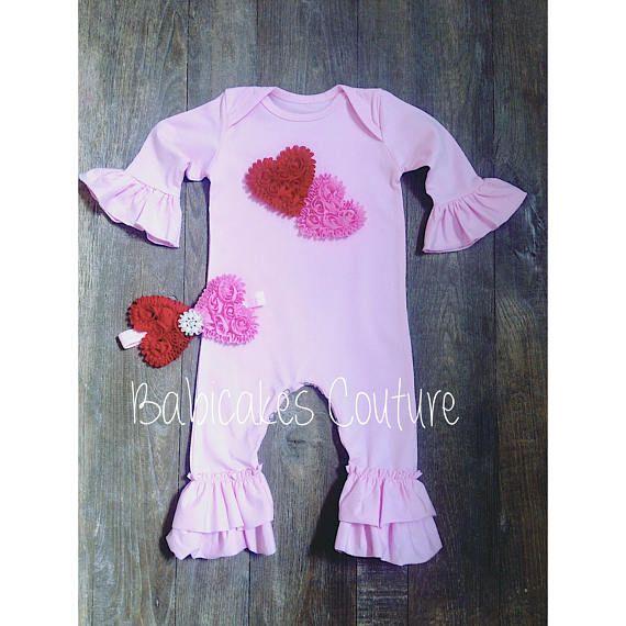 Valentines Outfit Babys 1st Valentine Newborn Girl Valentine
