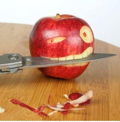 Isso é que é estar com a faca entre os dentes!!!!!! Yeahhhhhhh