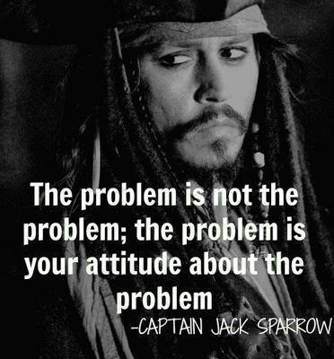 Captain Jack is a man of wisdom.