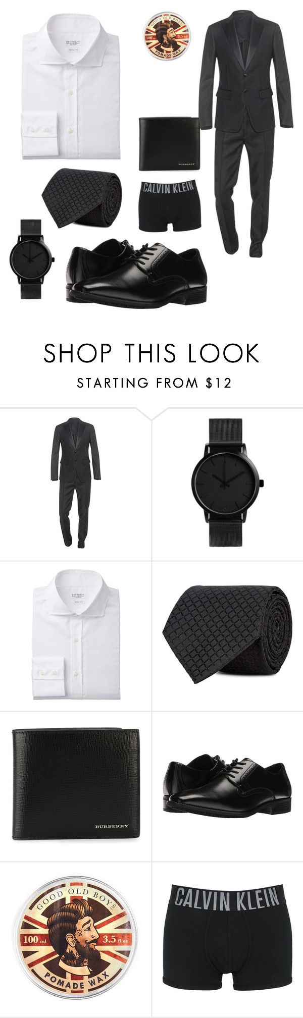 """""""Men's Valentine's Day"""" by alliesween ❤ liked on Polyvore featuring Dsquared2, Armani Collezioni, Burberry, Stacy Adams, Topman, Calvin Klein Underwear, men's fashion and menswear"""