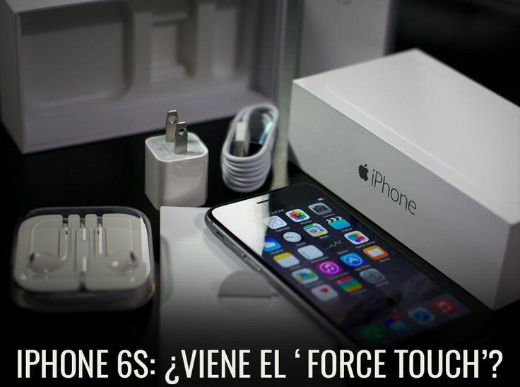 ¿Qué novedades traería el #iPhone6S? http://www.enter.co/chips-bits/smartphones/la-pantalla-del-iphone-6s-seria-sensible-a-la-presion-wsj/