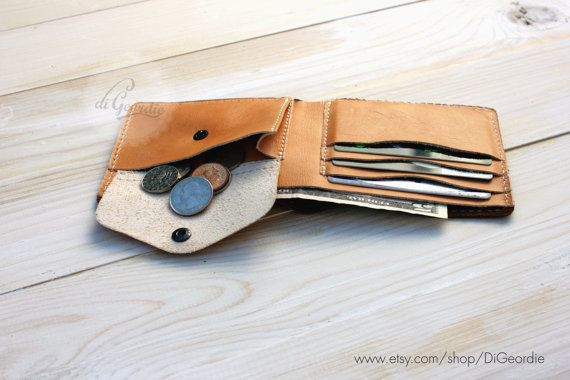 Leather wallet mens leather wallet leather wallet men by DiGeordie