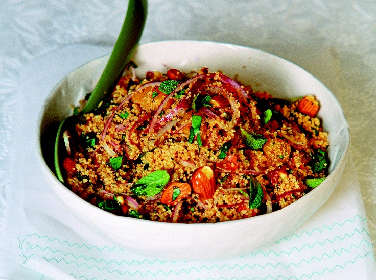 Herbed Couscous salad - HomeChoice Cookbook Volume I. Find the recipe here: http://hometalk.homechoice.co.za/content/herbed-couscous-salad