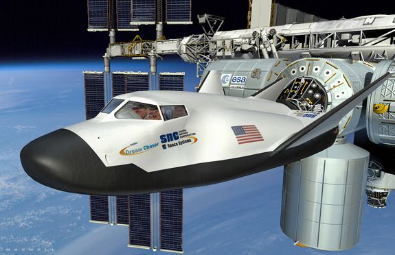 Sierra Nevada's Dream Chaser spaceplane - currently in development